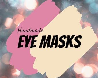 Eye Mask, Handmade Eye Mask, Cotton Mask, Hot pack, Cold pack, Headache, Eye pressure, Spa, Relaxation, Handmade, Eye Therapy Bag, Therapy
