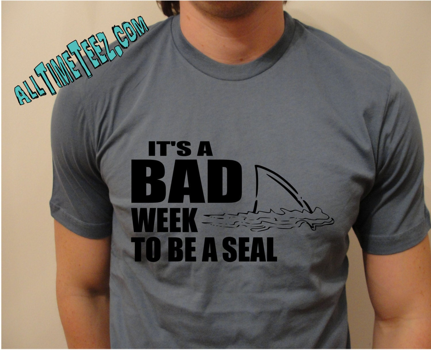 3a3184361c Shark Week - It's A Bad Week To Be A Seal - Awesome Shark T Shirt - Jaws T  Shrit - Unisex Fit, perfect for everyone! - Ships from USA
