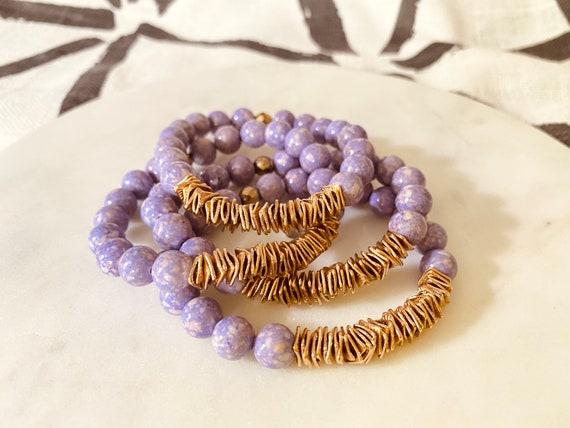 The Donna stretchie stacker bracelet