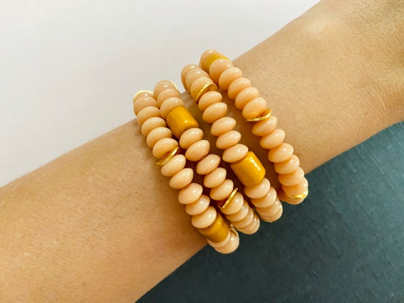 The Paola stretchie stacker bracelet