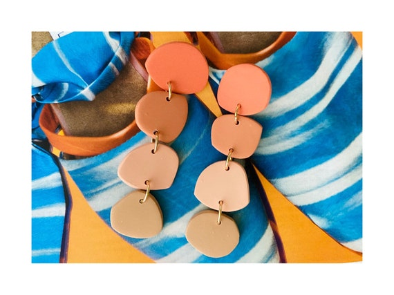 Chime Clay Danglers - Sunset Ombré