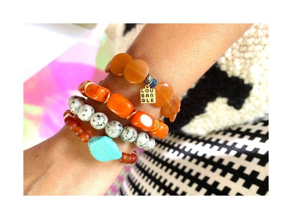Blood Orange Layering Stretchie | 3 options