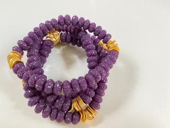The Prom Night stretchie stacker bracelet