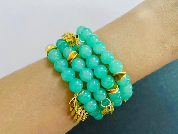 The Zendaya stretchie stacker bracelet