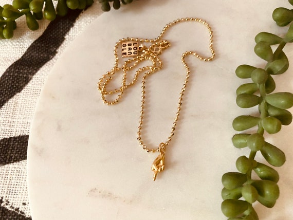 Hey Little Bird Charm Necklace