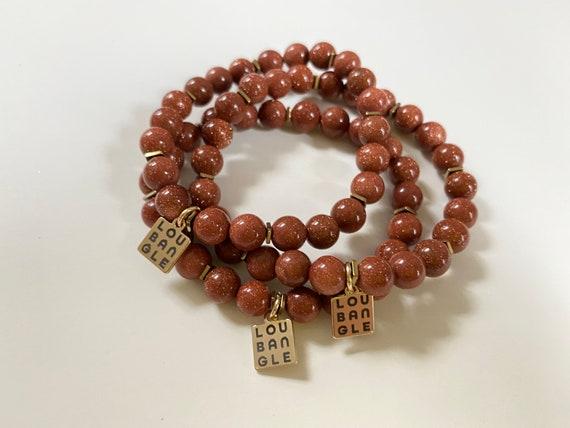 The Elondia stretchie stacker bracelet