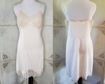 Wondermaid Fine Lingerie Small White Taffeta Underdress Under Dress Slip S 34 Wonder Maid Full Slip