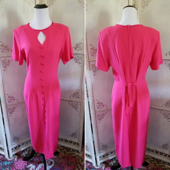 60s Jonathan Logan Petite Pink Dress