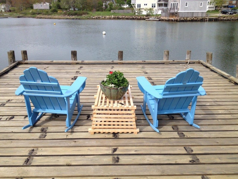 Maine Wooden Lobster Trap image 0