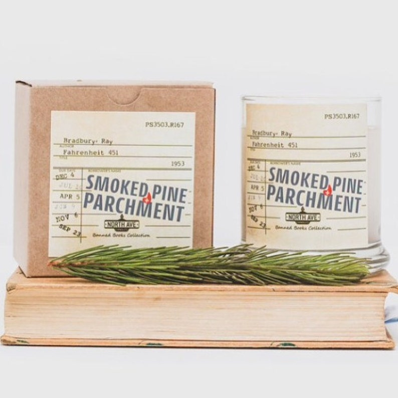 Smoked Pine  Parchment Scented Candle / Inspired by image 0