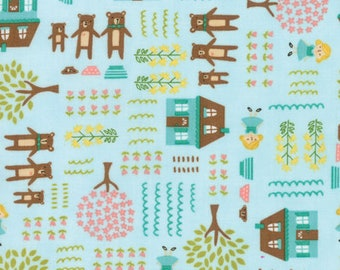 Home Sweet Home - Three Bears - from Moda Fabrics