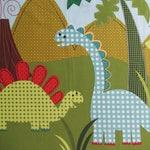 Dinosaur Fabric Panel
