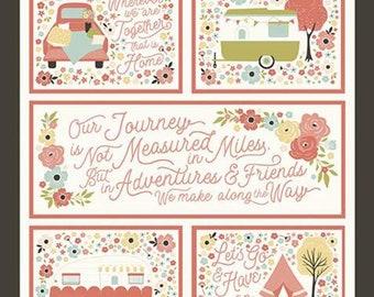 Joy in the Journey - Fabric Panel - Riley Blake