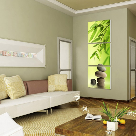 BEACH ready to hang set of 3 wall art print mounted on MDF//Improved canvas arts