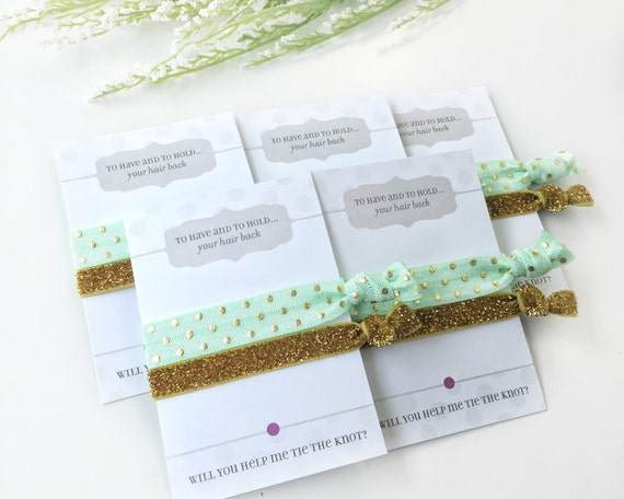 Will You Help Me Tie The Knot Hair Ties 6aaf117e416
