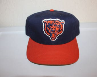 Vintage 90 s Chicago Bears Snapback by AJD a11a6a76a