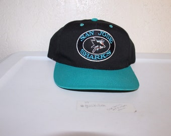 84441d8be0a Vintage 90 s San Jose Sharks Snapback by Annco