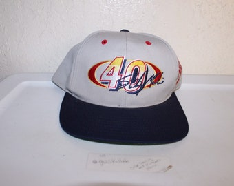 5d280f75caf1a Vintage 90 s Coors Light  40 Sterling Marlin Snapback by Race Day