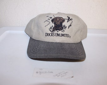 ae32c24379b Vintage 90 s Ducks Unlimited Strapback Hat by Ducks Unlimited