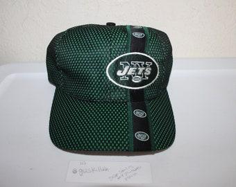 detailed look 24204 ec9ab Vintage 90 s New York Jets Baseball Hat by Team NFL