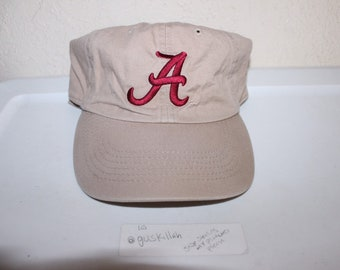 aeb1d05fc7e74 Vintage 90 s University of Alabama Roll Tide Strapback Dad Hat by  Captivating Headgear