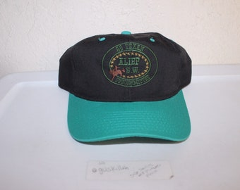 5fcaf4949ca Vintage 90 s Go Texan Subcommittee Alief SW Snapback by Yupoong