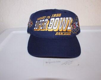 2ffc590a935 Vintage 90 s Super Bowl 32 San Diego Snapback by Sports Specialties