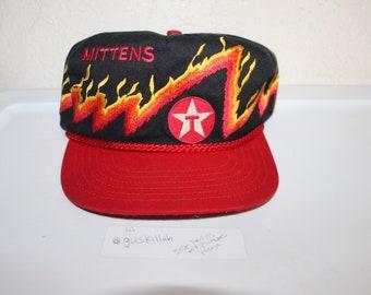 Vintage 90 s Mittens Texaco Oakley Kansas Snapback by Western Associaties 642f961fb1fd