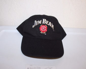 199c2dc3bc4 Vintage 90 s Jim Beam Strapback Hat by Jim Beam
