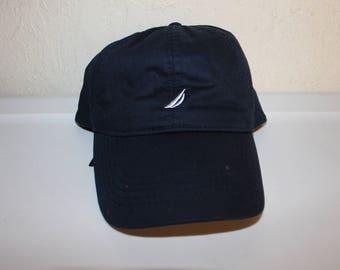 Vintage 90 s Nautica Strapback Dad Hat by Nautica 8b1cd58121b