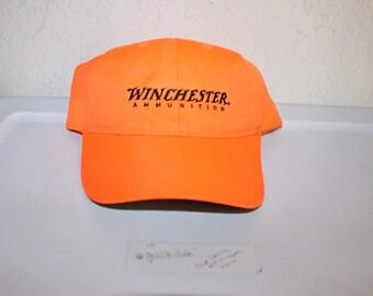 Vintage 90 s Winchester Ammunition Strapback Hat by Kati 7891f53e46db