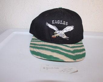 631e6277eb32ba Vintage 90's Philadelphia Eagles Zubaz Snapback by AJD