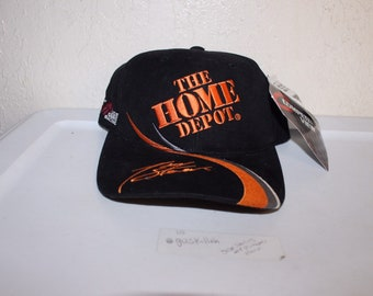 2124bd5e9 Vintage 90 s Home Depot Racing  20 Snapback by Competitors View