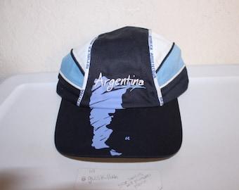 Vintage 90 s Argentina Country Strapback Hat 95e8e017633a