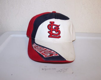 7673016adf9f6 Vintage 90 s St Louis Cardinals Strapback Hat by TEI