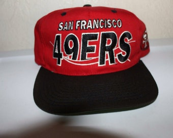 Vintage 90 s San Francisco 49ers Snapback by Team NFL 8853df50c