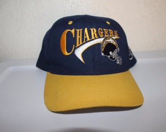 Vintage 90 s San Diego Chargers Snapback by Drew Pearson 63635bf60