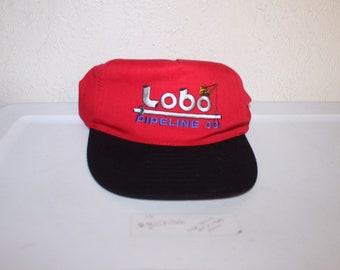 c50aeb53cfa Vintage 90 s Lobo Pipeline Co Snapback Hat by Nissun
