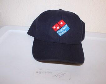 Vintage 90 s Dominos Pizza Snapback Hat 9b6093dba1fa