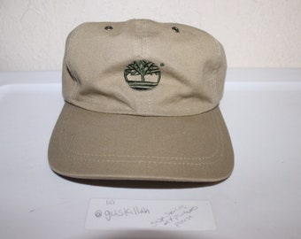 a4a1d380488 Vintage 90 s Timberland Strapback Dad Hat by Timberland