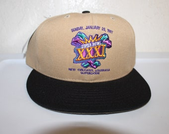 Vintage 90 s Super Bowl 31 Snapback by Annco 5074db7aa