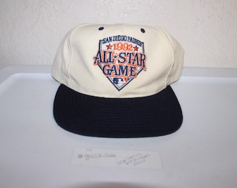 fe3a72e2063750 Vintage 1992 All Star Game San Diego Padres Snapback by Twins