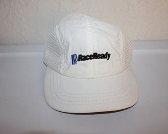 b315e7ecf47 Vintage 90 s RaceReady Running Hat Made in USA
