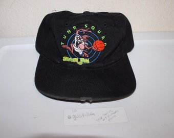 a983e262038 Vintage 90 s Space Jams Tune Squad Youth Snapback by Fresh Caps