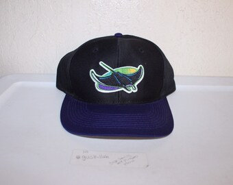 f58294d1dec Vintage 90 s Tampa Bay Devil Rays Snapback by Logo 7