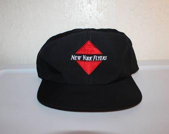 0674783c38f Vintage 90 s New York Flyers Nylon Snapback Hat