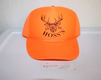 1158041dd0d Vintage 1996 Hoss s Snapback by Nissin