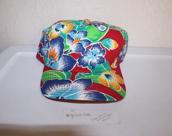 e68775d5 Vintage 90's All Over Print Floral Snapback by San Sun