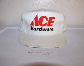 1dd9bbd1b7e80 Vintage 90 s Ace Hardware Snapback by Sportsman