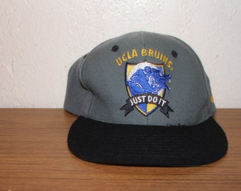 Vintage 90 s UCLA Bruins Just Do It Snapback by Nike 21cab577418b